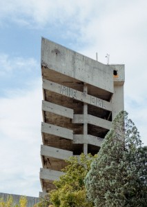 The sniper tower - Mostar