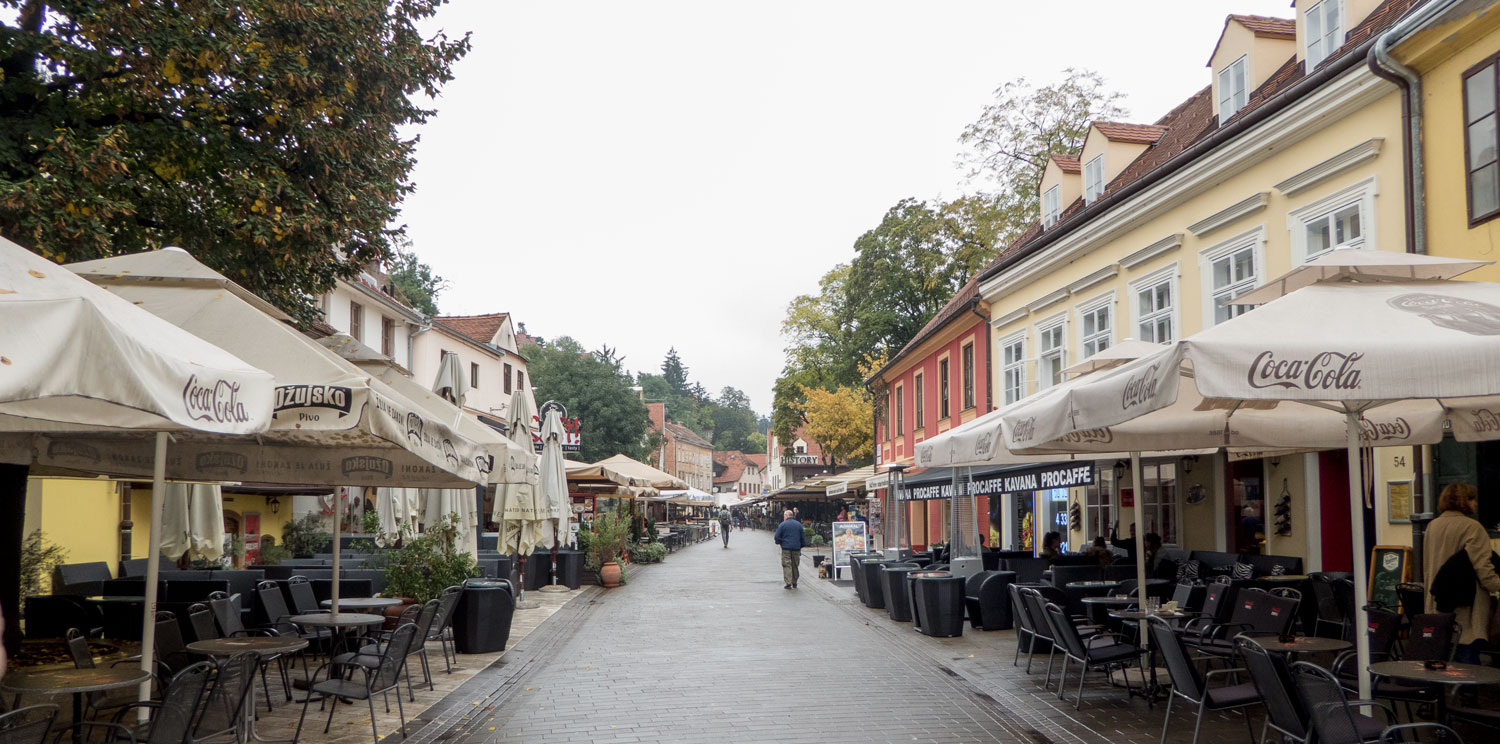 Loads of cafes and bars in Zagreb